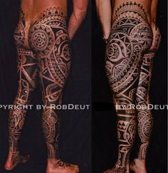 Tribal Tattoo Gallery - Rob Deut, Netherlands  AMAZING!!