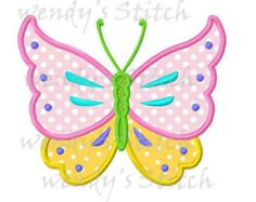 Butterfly love applique machine embroidery design by FunStitch