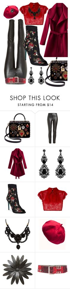 """""""floral"""" by i-rusche on Polyvore featuring Dolce&Gabbana, Étoile Isabel Marant, WithChic, Betsey Johnson, N°21, Gucci and Versace"""