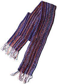Teleidoscope Scarf Pattern - Free Knitting Patterns by Kelley Petkun