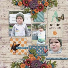 Layout: A is for Autumn