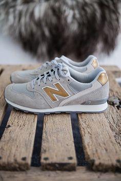 Gold/grey/new balance