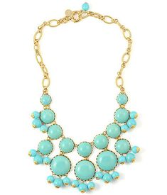 turquoise stones - a white jean compliment!