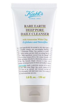 Kiehl's Since 1851 'Rare Earth' Deep Pore Daily Cleanser available at #Nordstrom