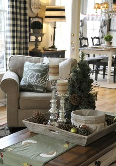 40 Christmas Decorations Ideas Bringing The Christmas Spirit into Your Living Room | http://www.designrulz.com/design/2013/11/40-christmas-decorations-ideas-bringing-the-christmas-spirit-into-your-living-room/