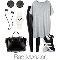 Airport Fashion: Rap Monster - Polyvore