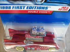 HOT WHEELS 1998 FIRST EDITIONS #40 DOUBLE VISION  FREE SHIPPING!!!