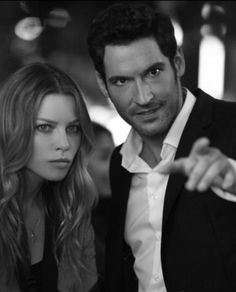 tom ellis // lauren german :: chloe and lucifer