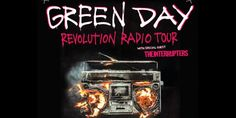 Green Day Revolution Radio UK Arena Tour 2017 with Special Guest The Interrupters Wednesday 8th February at The O2 Arena London... #greenday #revolutionradiotour #revolutionradiotour2017 #theinterrupters #billiejoearmstrong #mikedirnt #trecool #globalticketsuk #eventticketseller #buyandsell #bestseats