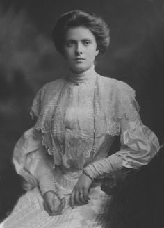Her Royal Highness Princess Andrew of Greece and Denmark, née Princess Alice of Battenberg, 1903.