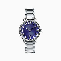 Atlas® 2-Hand 31 mm women's watch in stainless steel.