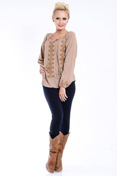 BLUZA BRODATA - IE #magazindefashion