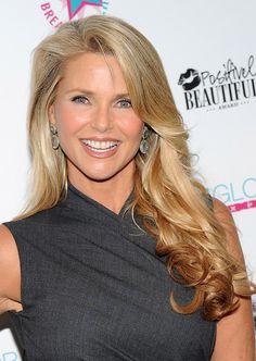 Christie Brinkley Long Curls - Christie Brinkley Looks - StyleBistro