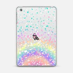Pastel Rainbow Confetti Explosion Transparent iPad Mini Case by Organic Saturation | Casetify. Get $10 off using code: 53ZPEA