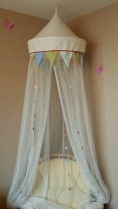 Ikea childs bed canopy (princess) | eBay