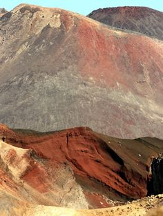 Mt Ngaruahoe & Red Crater, North Island, New Zealand