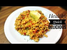 A Healthy and Easy Fried Rice With Vegetables via tonightsdinner on October 05 2018 at Making Fried Rice, Vegetable Rice, Risotto, Entrees, Lunch, Snacks, Dinner, Vegetables, Eat