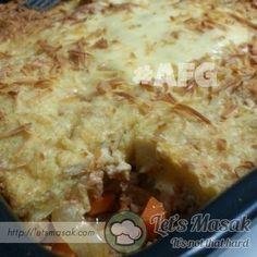 Resipi / resepi / recipe Lasagna Roti Gardenia