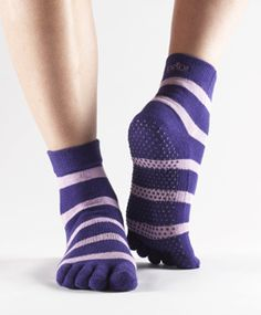 toesox - with grip on the soles - must have for yoga!