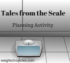 planning activity instead of just winging it