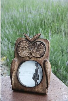 owl picture frame, only 18 bucks at urban! totally going in the dorm.