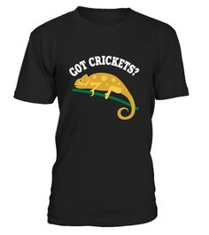 "# Chameleon Shirt Funny Got Crickets T-Sh4 .  ** RELAUNCHED - by popular demand **This is the LAST time print! Don't miss out!Secured payment via Visa / Mastercard / Amex / PayPalHow to order:1. Click the drop down menu and select your style 2. Click ""Buy it now""  3. Select size and quantity  4. Enter shipping and billing information  Order 2 or more and SAVE on shipping.   Chameleon   Shirt Funny Got Crickets T-Shirt"