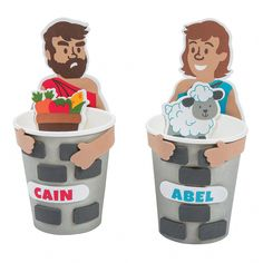 It's never been easier to teach kids all about God accepting Abel's offering and rejecting Cain's. A great addition to Sunday School crafts, this kit includes . Cup Crafts, Fun Diy Crafts, Creative Crafts, Preschool Crafts, Kids Crafts, Arts And Crafts, Paper Crafts, Handmade Crafts, Craft Projects For Kids