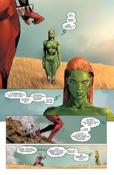 Poison Ivy and Harley Quinn Comic Book Pages, Comic Book Characters, Comic Book Heroes, Comic Character, Comic Books Art, Comic Art, Character Design, Arte Dc Comics, Comic Panels