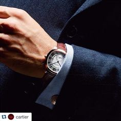 Cartier – Fine watches, jewelry, wedding and engagement rings, leather goods and other luxury goods. Prada, Gucci, Gentleman Style, Precious Metals, Watches For Men, Men's Watches, Perfect Fit, Mens Fashion, Jewels