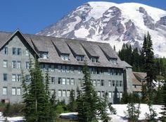 Paradise Lodge, Mt. Rainier, WA...where I spent the first couple nights of my honeymoon!
