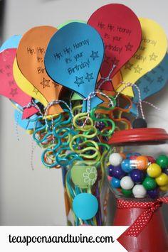 Teaspoons & Twine: free birthday printable