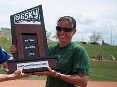 Portland State's Echo-Hawk Named Softball Coach of the Year