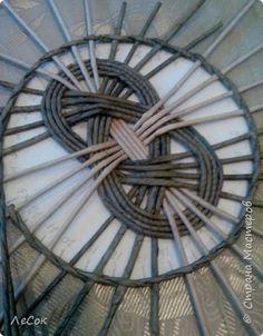 Мастер-класс Поделка изделие Плетение Мастер класс  Ажурные крышки Трубочки бумажные фото 20