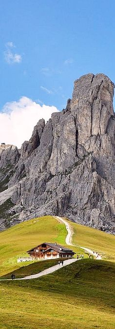 Passo di Giau, Italy