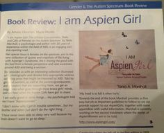Thank you Amaze (Autism Victoria) for including I Am AspienGirl book in your magazine devoted to #femaleaspergers #femaleautism #awesomejob www.aspiengirl.com