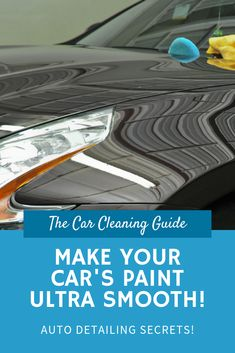Clay Bar: Make Your Car's Paint Smooth Like Glass – Car Cleaning Guide Car Cleaning Hacks, Car Hacks, Auto Maintenance, Sparkling Clean, Car Repair, Car Painting, Car Detailing, Car Stuff, Sport Cars