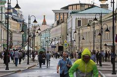 новая пешеходная улица в центре