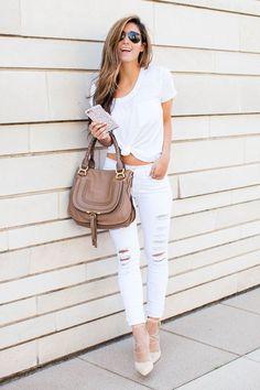 Calça branca: looks incríveis e como usar