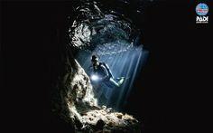 Immersioni in grotta...sensazioni uniche provale con #4Sub  (Credits by #PADI)