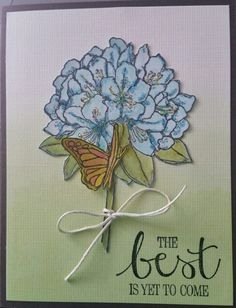 Stampin Up Hostess 2015-2016 Best Thoughts.