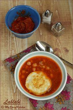 Lablabi ~ Chickpeas Soup from Tunisia