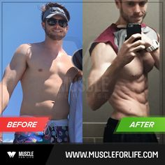 Check out Elliott's amazing 3-month Bigger Leaner Stronger transformation! By following the simple advice in the book, he dropped 22 lbs and damn near cut his body fat percentage in half.