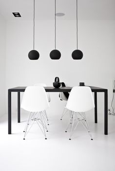 A black + white Danish power house