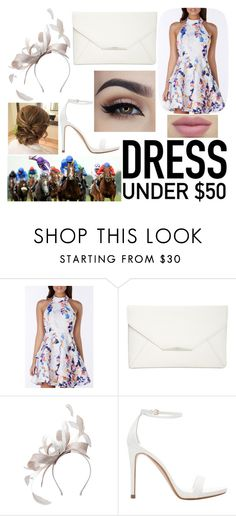 """""""At the Races"""" by horseygirlhannah ❤ liked on Polyvore featuring Style & Co., Mascara and Zara"""