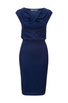 Uitleg jurk blauw