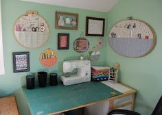 The Busy Bug Life: My Sewing Corner