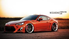 Low and Mean Toyota GT 86 Shines at Sunset