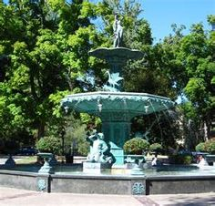 Beautiful Broadway Fountain in Madison Indiana.  Been going here since I was a little girl.