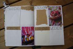 Bullet journal #5 - Juni, weekly spread Juni, Weekly Spread, Bullet Journal, Dreams, Blog, Handmade, Hand Made, Blogging, Handarbeit
