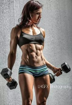 Nice physique! #workout #muscular #fitness #girl